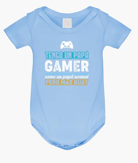Ropa infantil Tengo Un Papá Gamer