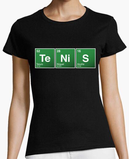 Camiseta Tenis Tabla Periódica (Mujer)