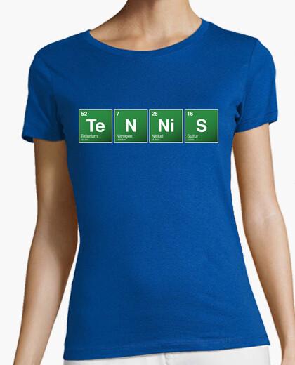 Tee-shirt tennis de table périodique (femme)