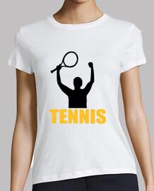 tennis match champion