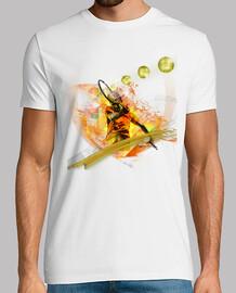Tennis Tee shirt Homme blanc