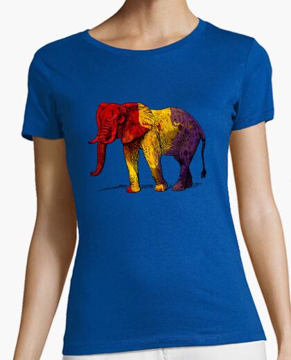 Camiseta Tercera República - Elefante Republicano (Mujer)