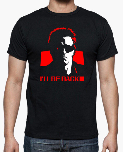 Terminator 1984 I'll Be Back Red Graphic Ree