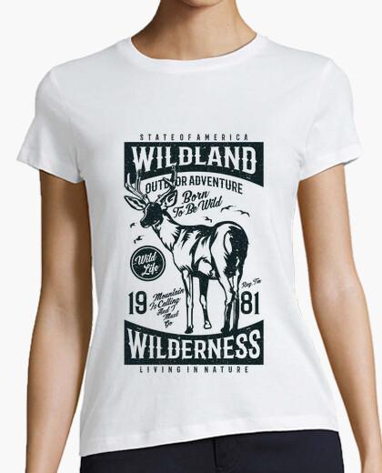 T-shirt terra selvaggia