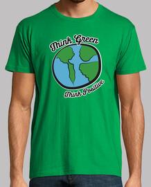 terre écologique pense vert
