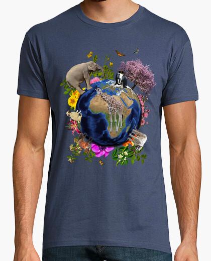 Tee-shirt terre mère