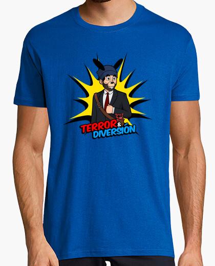 Tee-shirt terreur & fun homme animatowner