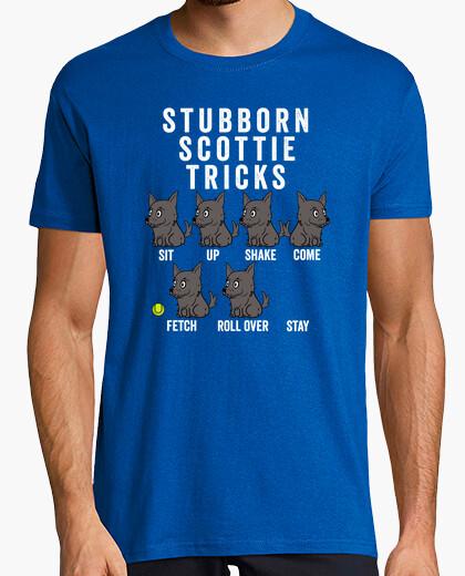 Tee-shirt terrier têtu écossais t rick s
