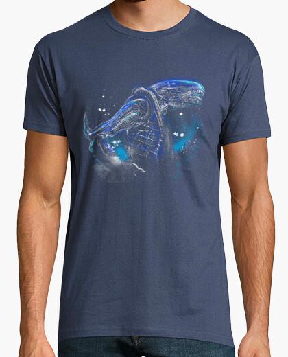 Camiseta terror extranjero desde el espacio profundo
