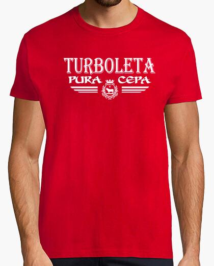 Camiseta Teruel . Turboleta Pura Cepa (Logo Blanco)