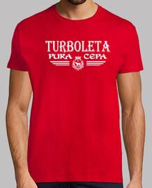 Teruel . Turboleta Pura Cepa (Logo Blanco)