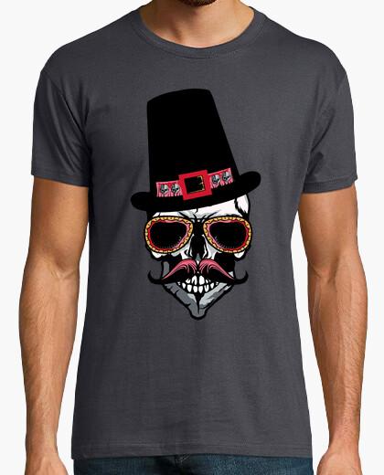 T-shirt teschio con skull