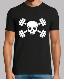 teschio di bodybuilding