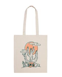 teschio e cactus