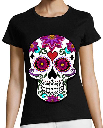 Visualizza T-shirt donna zombi