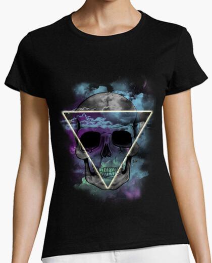 T-shirt teschio hipster !!!