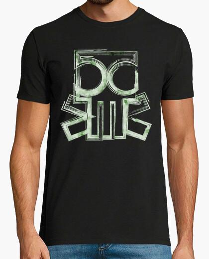 T-shirt teschio linee
