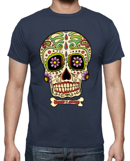 Visualizza T-shirt zombi