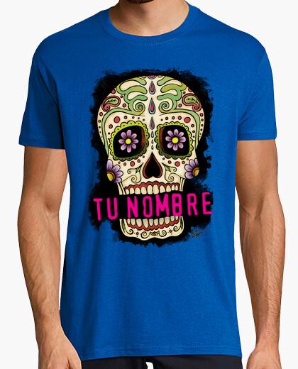 T-shirt teschio messicano !!! tuo nome