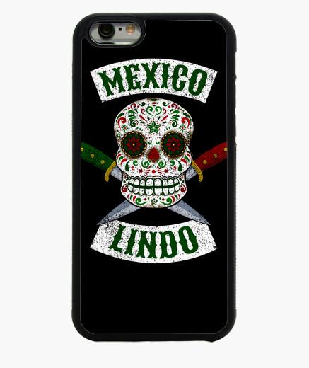 Cover iPhone 6 / 6S teschio messicano con...