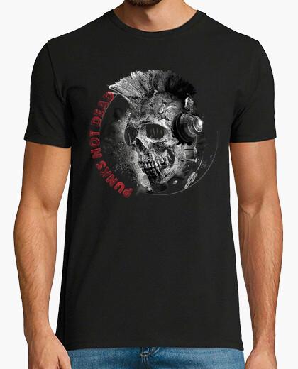 T-shirt teschio punk not morti