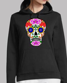 teschio stile messicano