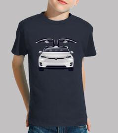 Tesla Model X niño