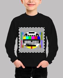 test card grid camiseta para niños
