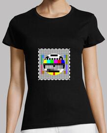 test carte grille femme t-shirt