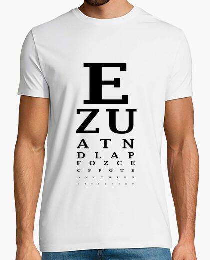 Tee-shirt test de vue