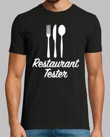 tester del ristorante