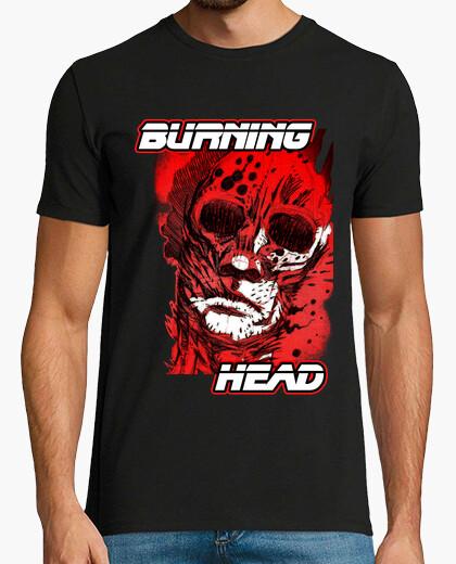 Tee-shirt tête brûlant