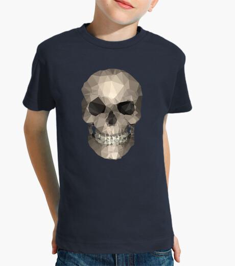 Vêtements enfant Tête de mort - Tee shirt enfant, manche courte, bleu marine