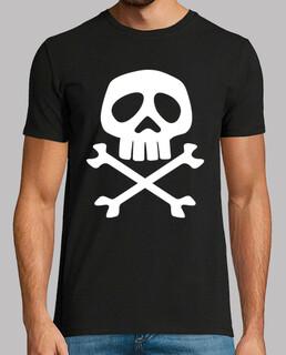Tête de mort  de pirate (captain harlock)