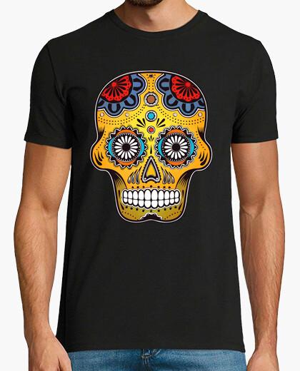 Tee-shirt Tête de mort couleur Mexique