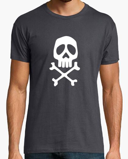 Tee-shirt Tête de mort Harlock