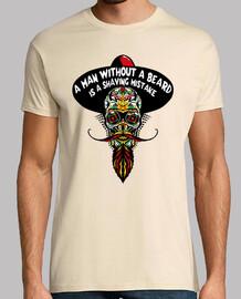 Tete de mort hipster mexicaine crane sk