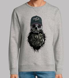 Tete de mort Hipster Skull 1