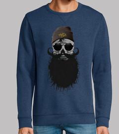 Tete de mort Hipster Skull 2