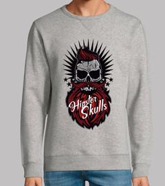 Tete de mort Hipster Skull nº 1091432