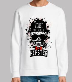 Tete de mort Hipster Skull nº 1091440
