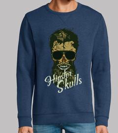 Tete de mort Hipster Skull nº 1091629