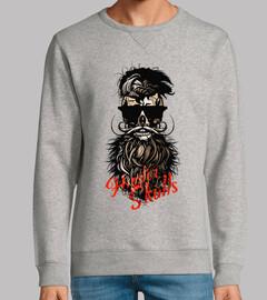 Tete de mort Hipster Skull nº 1091634