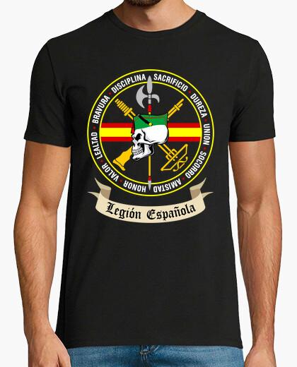 Tee-shirt Tête de mort légion