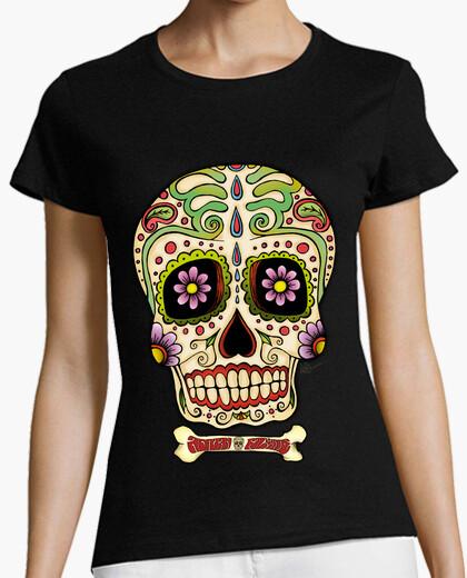 Tee-shirt Tête de mort mexicaine !!!