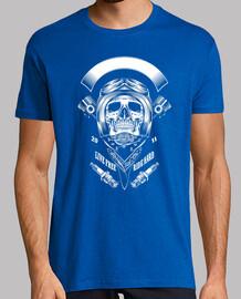 Tete de mort skull moto