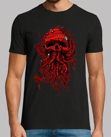 tête de poulpe rouge