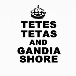 Camisetas Tetes tetas and Gandia Shore