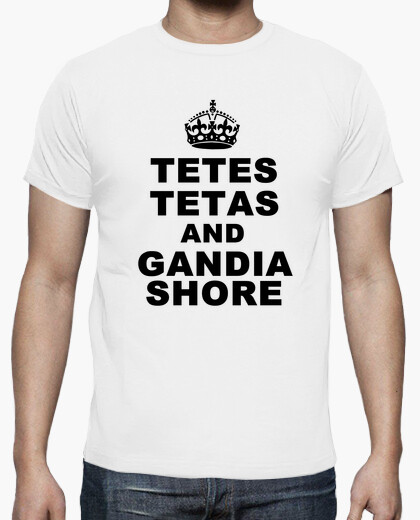 Camiseta Tetes Tetas and Gandia Shore- Chico