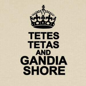 Camisetas Tetes tetas and Gandia Shore (2)